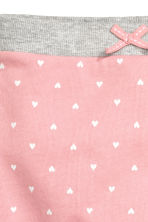 Joggers - Light pink/Heart - Kids | H&M CN 2