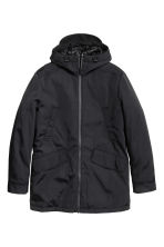 Padded parka - Black - Men | H&M CN 2