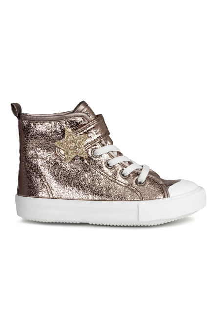 Shimmering trainers