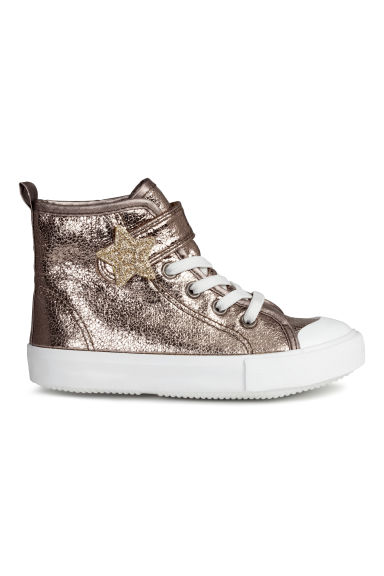 Shimmering trainers - Bronze - Kids | H&M CN 1