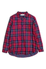 Shirt - Red/Checked - Ladies | H&M CN 2
