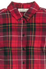 Camicia in flanella a quadri - Rosso - DONNA | H&M IT 3