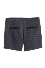 Jacquard-weave shorts - Dark blue/Patterned -  | H&M CN 3