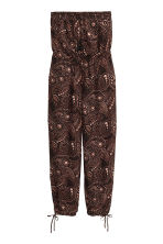 H&M+ Strapless jumpsuit - Black/Paisley - Ladies | H&M CN 2