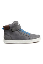Hi-top trainers - Dark grey - Kids | H&M CN 1