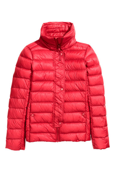 Down jacket - Red - Ladies | H&M CN 1