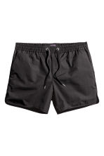 Twill shorts - Anthracite grey - Men | H&M CN 1