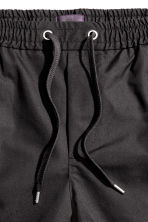 Twill shorts - Anthracite grey - Men | H&M CN 2