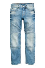 Slim Biker Jeans - Light denim blue - Kids | H&M CN 2