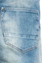 Slim Biker Jeans - Light denim blue - Kids | H&M CN 4