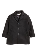 Coat - Black - Kids | H&M CN 2