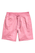 Pyjama shorts - Pink marl - Men | H&M CN 1
