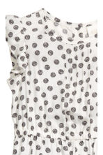 Patterned romper suit - Natural white - Kids | H&M CN 2