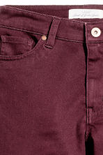 Pantaloni super-stretch - Bordeaux - DONNA | H&M IT 4