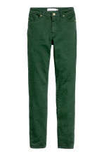 Pantaloni super-stretch - Verde scuro - DONNA | H&M IT 1