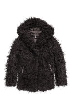 Faux fur jacket - Black - Ladies | H&M CN 2
