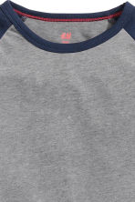 Long-sleeved T-shirt - Dark grey - Kids | H&M CN 3