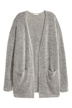 Cardigan in misto mohair - Grigio mélange -  | H&M IT 2