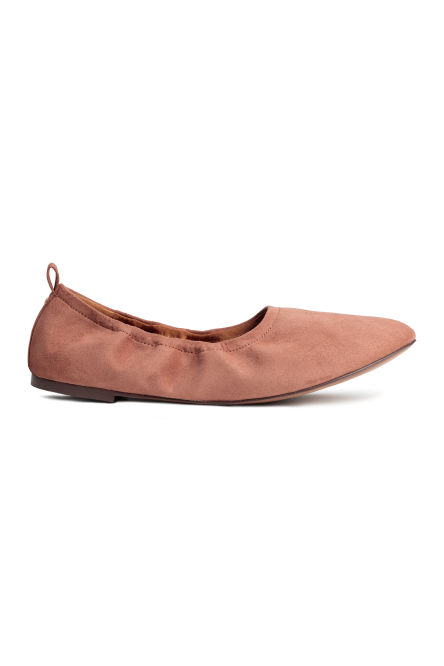 Soft ballet pumps