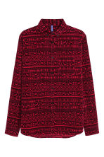 Corduroy shirt - Dark red - Men | H&M CN 2