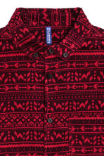 Corduroy shirt - Dark red - Men | H&M CN 3