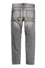 Straight Regular Ripped Jeans - Gris foncé washed out - HOMME | H&M CH 3