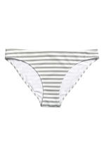 Bikini bottoms - White/Grey striped - Ladies | H&M CN 2