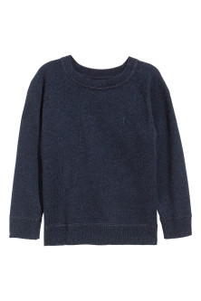Cotton and cashmere jumper