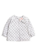 3-piece set - Light grey/Spotted - Kids | H&M CN 2