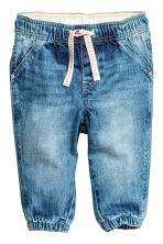 Pull-on jeans - Denim blue - Kids | H&M CN 1