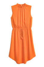 Crêpe dress - Orange - Ladies | H&M CN 2