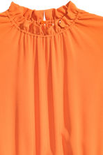 Crêpe dress - Orange - Ladies | H&M CN 3