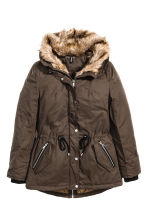 Parka imbottito - Marrone scuro - DONNA | H&M IT 2