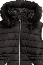 H&M+ Padded gilet - Black - Ladies | H&M CN 3