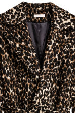 H&M+ Patterned coat - Leopard print - Ladies | H&M CN 3