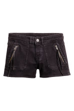 Denim shorts - Black - Ladies | H&M CN 2