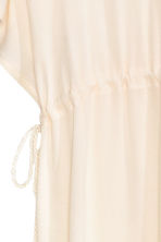 Kaftan with lace - Natural white/Blue - Ladies | H&M CN 3
