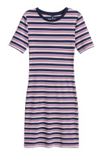 Dark blue/Narrow striped