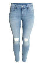 H&M+ Slim Regular Jeans - Light denim blue - Ladies | H&M CN 2