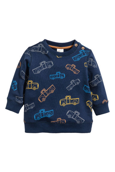 Felpa - Blu scuro/Cars - BAMBINO | H&M IT 1