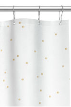 Patterned shower curtain - White - Home All | H&M CN 3
