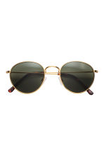 Sunglasses - Gold/Dark green - Men | H&M 2