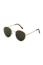 Sunglasses - Gold/Dark green - Men | H&M 1