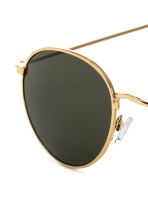 Sunglasses - Gold/Dark green - Men | H&M 3