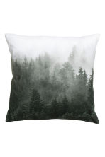 Printed cushion cover - White/Landscape  - Home All | H&M CN 1