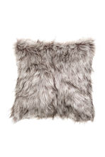 Faux fur cushion cover - Grey - Home All | H&M 2
