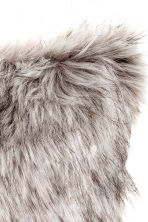 Faux fur cushion cover - Grey - Home All | H&M 3