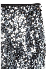 H&M+ Gonna di paillettes - Black/Silver - DONNA | H&M IT 3