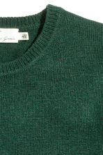 Pullover in misto lana - Verde scuro - UOMO | H&M IT 3