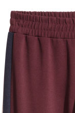 H&M+  Pantaloni ampi - Bordeaux - DONNA | H&M IT 3